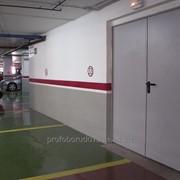Двери противопожарные двупольные Padilla 990+980* (1970*)x2050
