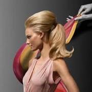 Парикмахерские услуги, элюминирование волос фото