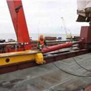 Гидравлический толкатель мостовых конструкций фото