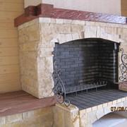 Кладка печей.каминов,банных печей из кирпича фото