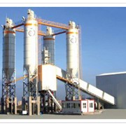 Завод бетонный стационарный GBS 160 фото