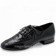 Обувь мужская для танцев стандарт модель Морган фото