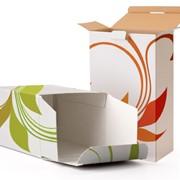 Упаковка из бумаги и картона фотография