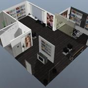 Дизайн и декор интерьеров салонов красоты. 3D визуализация интерьеров парикмахерских салонов. Декор и расстановка мебели в помещении