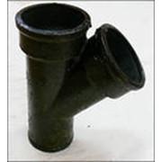 Системы канализационные напорные на чугунных трубах