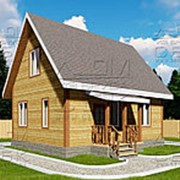Проект дома из профилированного бруса 6 х 8 «Сангридское» фото