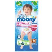 Moony трусики Man для мальчиков L (9-14 кг) 44 шт. фото