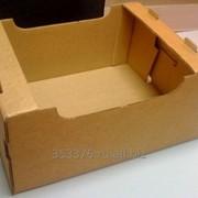 Ящик- Лоток из 5-слойного гофрокартона под огурцы/помидоры