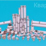 Предохранители высоковольтные плавкие серии ПКТ на 6, 10 и 35 кВ, ток 2-200А и серии ПКН на 10 и 35 кВ. Комплектующие для электротехники фото