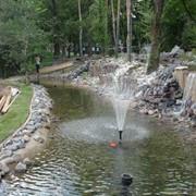 Искусственные водоемы и пруды фото