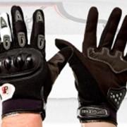 Перчатки летние S8 (ткань, цвета и размеры в ассортименте) фото