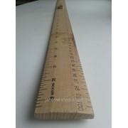 Метр деревяный с ручкой 1036 фото