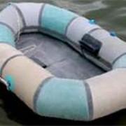 Лодка гребная Колибри фото