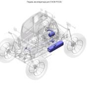 Педаль акселератора для УЭСМ РОСА фото