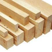 Брус деревянный стандартный чистообрезной фото