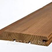 Вагонка термо-береза, элитный сорт - цвет светло-коричневый фото
