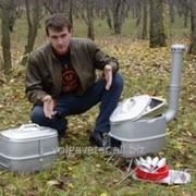 Переносная печка туристическая Дымок фотография