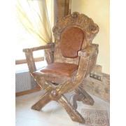 Кресла деревянные фото