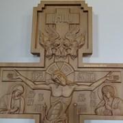 Голгофа, крест, распятие. фото