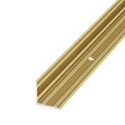 ЛУКА Порог угловой ПУ 05-1-900-02 золото (0,9м) 20х20мм фото