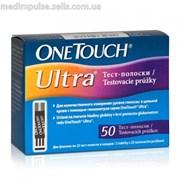 Тест-полоски OneTouch Ultra (Ван Тач Ультра) (50 шт.) Уникальные технологии измерения фото