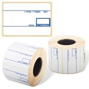 Термоэтикетки препринт 58х60, 500 фото