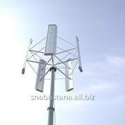 Вертикально-осевой ветрогенератор Falcon Euro - 5 кВт фото