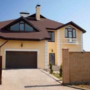 Строительство частных домов и загородных домов фото