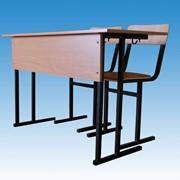 СУ-1.6 Парта ученическая + 2 стула, Товары для школьников фото