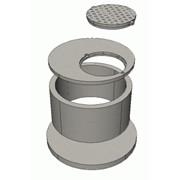 Кольцо стеновое и железобетонное для смотровых колодцев КС 10-6 фото