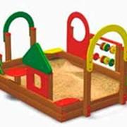 Песочный дворик фото