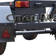 Автомобильный прицеп 849011 грузоподъемностью 1800 кг. низкорамный фото