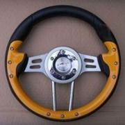 Спортивный руль для автомобилей ВАЗ (Yellow Sport) фото