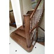 Парадная маршевая лестница фото