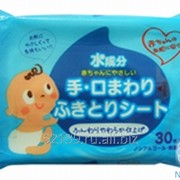 Влажные салфетки для ухода за нежной кожей тела малышей Showa Siko Easy care с экстрактом алоэ вера 3х80шт 140мм х 200мм 4957434002741 фото