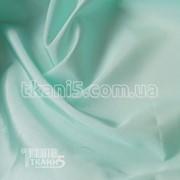 Ткань Тафта подкладочная (снежная мята) 3466 фото