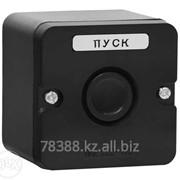 Кнопка ПКЕ 222-1 (кнопка черная) фото