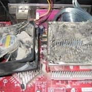 Чистка системного блока от пыли
