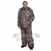 Куртка зимняя Кобра, тк. Duplex/Cosmo-Term, цв. КМФ фото