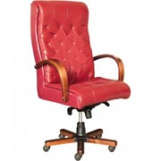 Кресло для руководителя Б Герцог красное фото