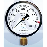 Манометр эконом ДМ 05-МП-3У 100 - 25 кгс/см2 -1,5 ТУ У 33.2-14307481-031:2005 фото