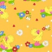 Ткань постельная Фланель 170 гр/м2 90 см Набивная/Детская 5010-4 цветной/S056 PTS фото