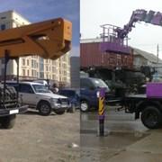 Аренда автовышки 22 метра. Екатеринбург и область фото