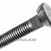 Болт норийный (элеваторный, транспортерный) ГОСТ 7785 DIN 15237 с потайной головкой и усом фото