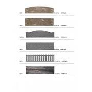 Форма для бетонного забора фото