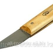 Нож сапожный с деревянной ручкой, 29х75/175мм Код: 0954 фото