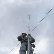 Монтаж антенных мачт и сооружений фото