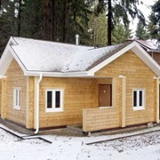 Строительство сооружений деревянных фото