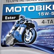 Масло мотоциклетное Ravenol Motobike 4-T Ester 15w50 1l., 4л фото