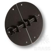 Засов на сундук, цвет - черный 5201-66 фото